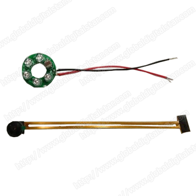 OV7725 Camera Module with LEDs